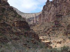 Rock Climbing Photo: The Siren as seen from Mushroom Rock