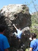 Rock Climbing Photo: Matt's boulders