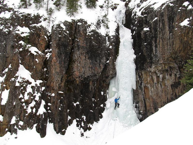 Rock Climbing Photo: Zach Pytka on the elevator shaft