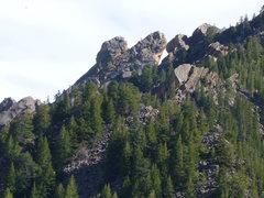 Rock Climbing Photo: Mouse Ears.