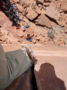 Rock Climbing Photo: Looks like BD 0.75 and 1, does that equal 10a?    ...