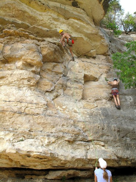 "Rock Climbing Photo: Anonymous climber on ""Bird Dog"""