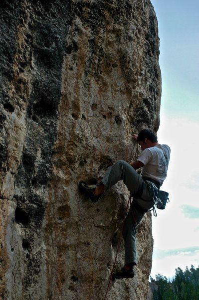 Rock Climbing Photo: Rad pockets