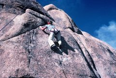 Rock Climbing Photo: Anne Carrier toproping Tight Shoes.