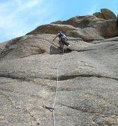 Rock Climbing Photo: The Riddler, 5.9.