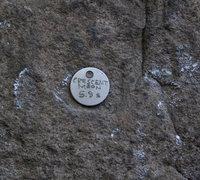 Rock Climbing Photo: Crescent Moon nameplate