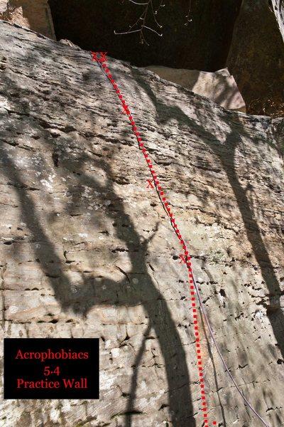 Rock Climbing Photo: Acrophobics Anonymous