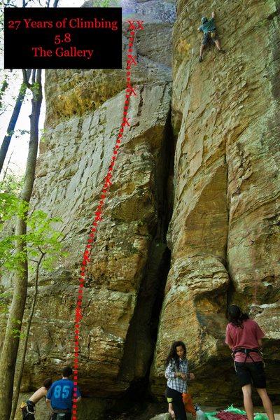 27 Years of Climbing