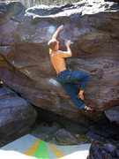 Rock Climbing Photo: It looks like it should be so easy, but yet...  Ab...