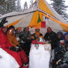 In the Kiva, snow cave '06.