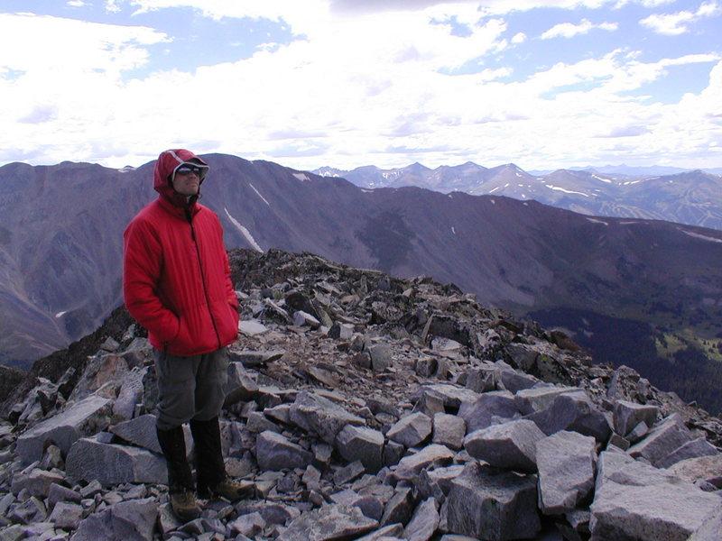 Rock Climbing Photo: Summit of Guyot Peak.