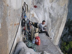 Rock Climbing Photo: Ahwanee Ledge, Leaning Tower