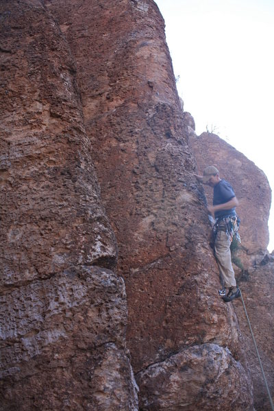 Rock Climbing Photo: Scott on 3 0f 40