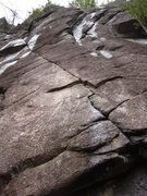 Rock Climbing Photo: condition in early spring