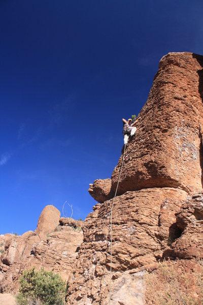 Rock Climbing Photo: scott on 8 of 40