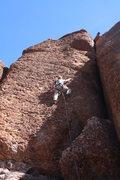 Rock Climbing Photo: Scott on 11 of 40