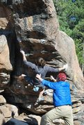 Rock Climbing Photo: Hyperion Proboscis, V7.