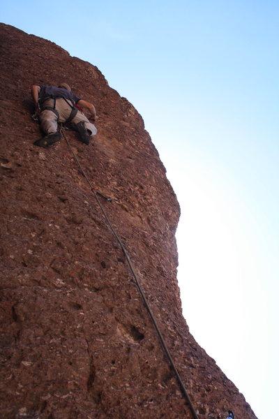 Rock Climbing Photo: Scott on 14 of 40