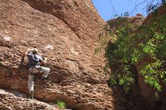 Rock Climbing Photo: Scott on 18 of 40