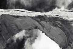 Rock Climbing Photo: Skyline Arch