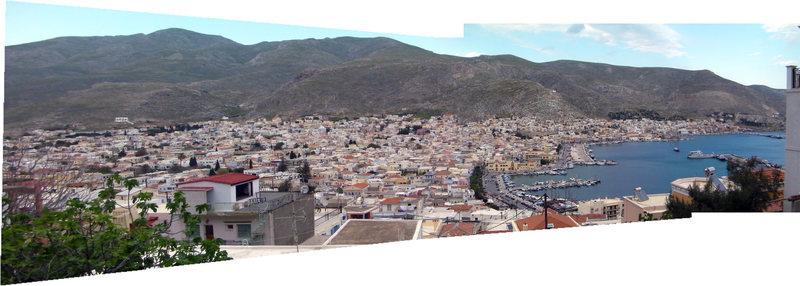View of Kalymnos (Pothia).
