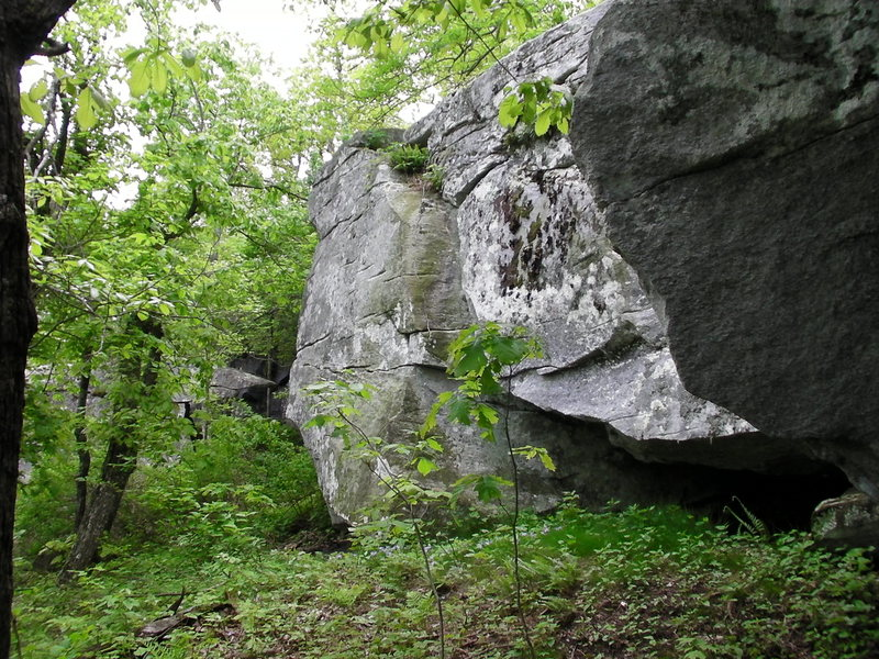 Rock Climbing Photo: Nice-looking Northside boulder.