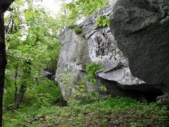 Rock Climbing Photo: Nice-looking Northside boulder.