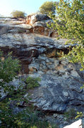 Rock Climbing Photo: Lime Stone Gap