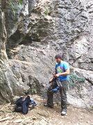 Rock Climbing Photo: Limestone.