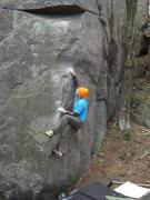 Rock Climbing Photo: Ian on the classic Sex and Chocolate.