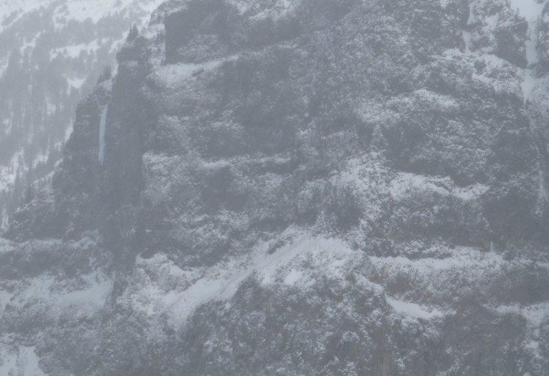 Rock Climbing Photo: winter dance!