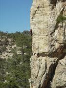 Rock Climbing Photo: Jimbo in the 3rd dimension