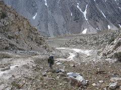 Rock Climbing Photo: avalanche wall approach