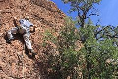 Rock Climbing Photo: Scott on 16 of 40