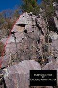 Rock Climbing Photo: Snedagar's Nose
