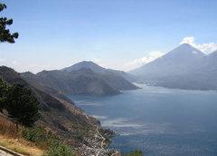 Rock Climbing Photo: Lake Atitlan