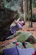 Rock Climbing Photo: Matt on Vintage V4