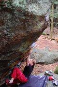 Rock Climbing Photo: Jared on Vintage V4