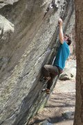 Rock Climbing Photo: Tom on Loadies Zen V7