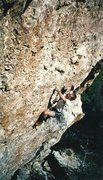 Rock Climbing Photo: Cres powering through the tech crux of Dr. Evil in...