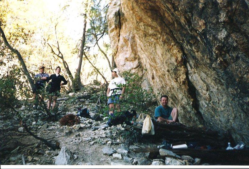 Rock Climbing Photo: Miles Kunkel and Meryl Singer (strongest husband/w...