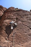 Rock Climbing Photo: Scott on 19 of 40