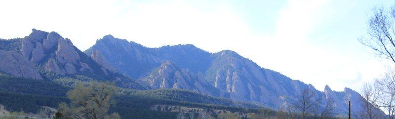 Rock Climbing Photo: Flatirons.