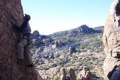 Rock Climbing Photo: Scott on 24 of 40