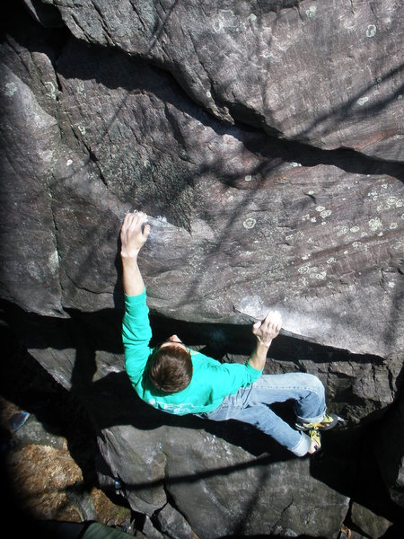 Rock Climbing Photo: Got it  photo: Paul Campbell