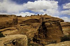 Rock Climbing Photo: Delicate Arch