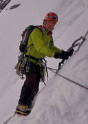 Rock Climbing Photo: Will Sim photo of Jon Griffith on the Eiger last m...