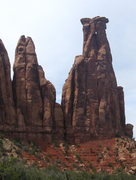 Rock Climbing Photo: The South Faces of Dirty Old Man Tower (left) and ...