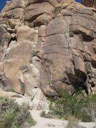 Rock Climbing Photo: The Mikado, beta photo.