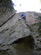 Rock Climbing Photo: Riding the arete of Danita Dolores